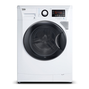 倍科 WDA96H 9公斤 洗烘一体变频滚筒洗衣机 空气冷凝式烘干机 白色