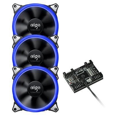 爱国者  八度空间R3 电脑机箱风扇(1拖3控制器/水冷排散热/减震脚垫/赠螺丝)产品图片3