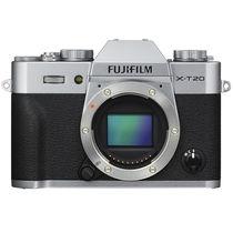 富士 X-T20 微单电机身 银色 2430万像素 翻折触摸屏 4K产品图片主图