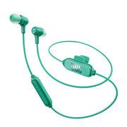 JBL E25BT 青色 无线蓝牙入耳式立体声音乐耳机