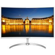 飞利浦 278E8QDSW 27英寸曲面 VA面板 预置HDMI接口 优雅纤薄 不闪屏显示器