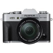 富士 X-T20 (XC 16-50II) 微单电套机 银色 2430万像素 翻折触摸屏 4K产品图片主图