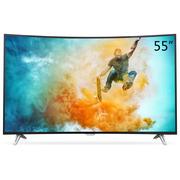 飞利浦 55PUF6301/T3 55英寸 4K超高清曲面智能液晶电视机(黑色)