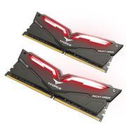 十铨 十铨(Team) 夜鹰系列 DDR4 3000 16G (8Gx2) 红色LED呼吸灯台式机内存