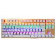 惠普 GK200混光 机械键盘87键游戏键盘 机械青轴 土豪金版