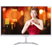 飞利浦 276E7QDWAW 27英寸 无线连接 PLS面板 细窄边框 85%NTSC广色域 HDMI接口 内置扬声器显示器