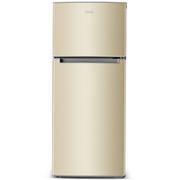 奥马 BCD-118A5 双门冰箱 大冷藏小冷冻 家用两门小冰箱 (金色)