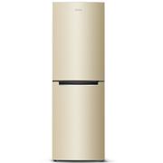 奥马 BCD-229WT/B 229升 双门冰箱 风冷无霜 电脑控温 变频节能 新1级(金色)