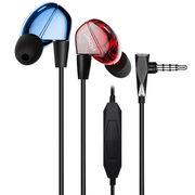 威索尼克 NEW VSD2Si 入耳式线控通话耳机 红蓝双色
