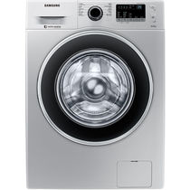 三星 WW80J3230GS/SC 8公斤 智能变频 15分钟快洗 钻石型内筒 滚筒洗衣机 (银色)产品图片主图