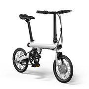 小米 骑记电助力折叠自行车 白色