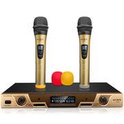 索爱 CK-M50 K歌无线话筒电脑无线麦克风一拖二家用会议卡拉OK话筒手持