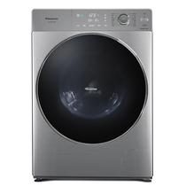 松下 XQG100-S1355 超薄型大容量全自动滚筒洗衣机 一键智洗 远程智控 变频电机 拉丝银产品图片主图