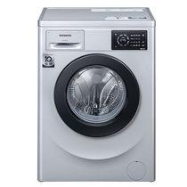 西门子   XQG80-WM12L2E88W  8公斤  变频  全自动滚筒洗衣机  (银色)产品图片主图