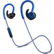 JBL Reflect Contour 无线蓝牙运动耳机 入耳/耳挂式线控 手机耳机/耳麦 蓝色迷你版