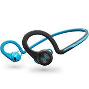 Plantronics BackBeat FIT 无线运动立体声蓝牙耳机 音乐耳机 通用型 双边耳挂入耳式 电光蓝色