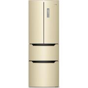 奥马 BCD-303WH/B 303升 法式多门冰箱 风冷无霜 电脑控温 变频节能 (金色)