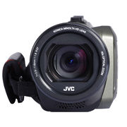 JVC GZ-R420四防高清摄像机DV 家用户外运动 军绿色