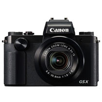 佳能 PowerShot G5X 数码相机 (2020万有效像素 DIGIC6处理器 24-100mm变焦)产品图片主图