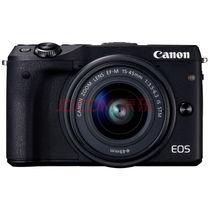 佳能 EOS M3 微型单电双头套机 黑色(18-55mm f/3.5-5.6 IS STM、55-200mm f/4.5-6.3 IS STM)产品图片主图