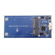 IT-CEO mSATA转USB3.0SSD固态硬盘转接卡扩展卡 蓝色( 适合mSATA接口固态硬盘/ IT-106)