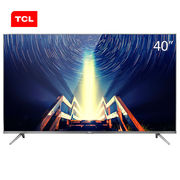 TCL 40A730U 40英寸30核人工智能超薄HDR 4K安卓LED液晶电视机(锖色)