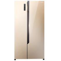 海信  590升 对开门冰箱 风冷无霜 电脑控温 节能静音 琥珀金 BCD-590WT/Q产品图片主图