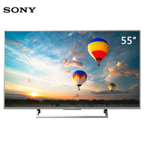 索尼 KD-55X8000E 55英寸4K HDR 安卓6.0 智能液晶电视(银色)产品图片主图