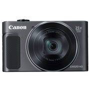 佳能 PowerShot SX620 HS 黑色 数码相机 2020万像素 25倍变焦