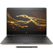 惠普 Spectre x360 13-ac014tu 13.3英寸超轻薄翻转笔记本(i7-7500U 8G 512GSSD FHD 触控屏 )黑金版