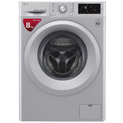 LG 8公斤 DD直驱变频 滚筒洗衣机 除菌 节能 静音 洁桶洗 快洗 LED触摸屏 WD-M51TNG25(奢华银)