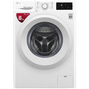 LG 8公斤 DD直驱变频 滚筒洗衣机 除菌 节能 静音 洁桶洗 快洗 LED触摸屏 WD-L51TNG20 (奢华白)