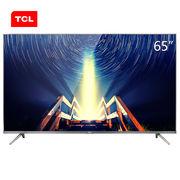 TCL 65A730U 65英寸30核人工智能超薄 HDR 4K安卓LED液晶电视机(锖色)