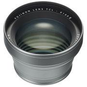 富士 TCL-X100 II 望远转换镜头 银色 等效50mm焦距 X100F适用