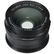 富士 WCL-X100 II 广角转换镜头 黑色 等效28mm焦距 X100F适用