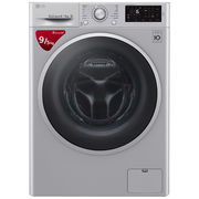 LG 9公斤 DD直驱变频 洗烘一体 滚筒洗衣机 除菌 节能 静音 洁桶洗 快洗 LED触摸屏 WD-M51BNF45(奢华银)