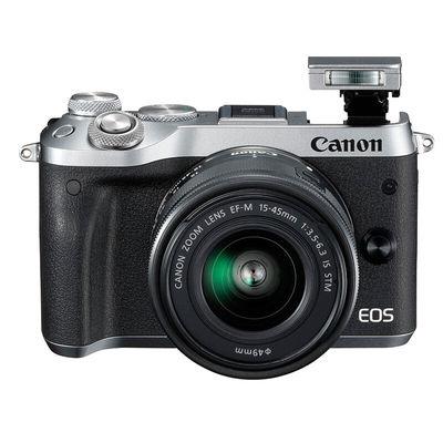 佳能 EOS M6(15-45)微型可换镜数码相机 银色产品图片3