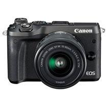 佳能 EOS M6(15-45)微型可换镜数码相机 黑色产品图片主图