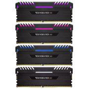 海盗船 复仇者RGB灯条 DDR4 3000 32GB(8Gx4条)台式机内存 RGB光