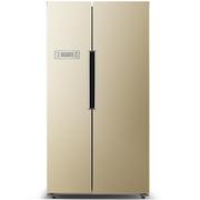 奥马  BCD-521WI 521升 智能变频 风冷无霜 防倾倒 对开门电脑冰箱 金色