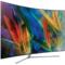 三星 QA55Q7CAMJXXZ 55英寸 曲面Q系列 光质量子点 HDR1500 四面超窄边框 隐形线缆 智能电视 银色产品图片3