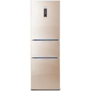 帝度 BCD-259WTGEZ 259升 三门冰箱 恩布拉科压缩机 风冷无霜 玻璃面板(郁香金)