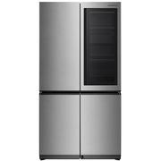 LG 玺印GR-Q23FGNGM 线性变频风冷十字对开门冰箱 门中门  全冷气存鲜 高效除菌(流光银)