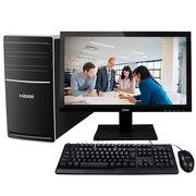 神舟 新瑞K80-KL5 D1 台式游戏电脑整机 (i5-7400 8G DDR4 1T HDD GT730 2G显存 键鼠 win7)21.5英寸