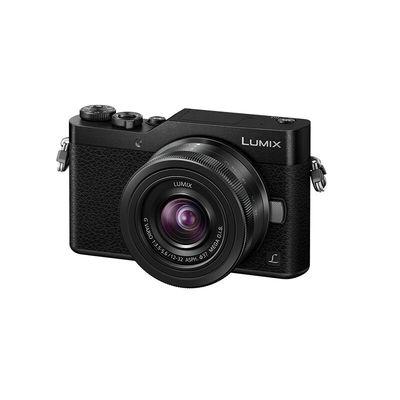 松下 Lumix DC-GF9KGK-K 微型单电套机 神秘黑 4K美颜自拍利器(12-32mm DC-GF9KGK-K)产品图片1