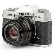 富士 X-T20 XF35 F2 银色 微单电套机 2430万像素 翻折触摸屏 4K WIFI产品图片主图