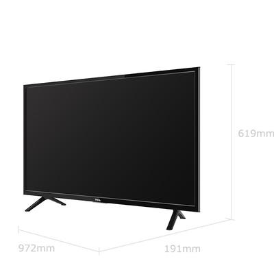 TCL L43P1A-F 43英寸 海量影视资源同步院线智能LED网络平板电视机(黑)产品图片2