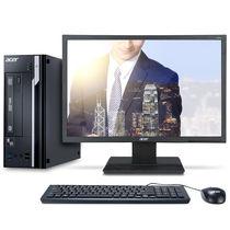 宏碁 商祺SQX4650 120N 台式办公电脑整机(G3930 2GDDR4 1T Wifi 键鼠 Win10)19.5英寸产品图片主图