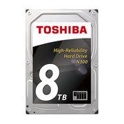 东芝 N300 系列 8TB 7200转 128M SATA3 NAS(网络存储) 硬盘(HDWN180)