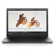 联想 IdeaPad 100S固态硬盘版14.0英寸笔记本电脑(英特尔四核处理器N3160 4G 256G SSD 高清屏)银